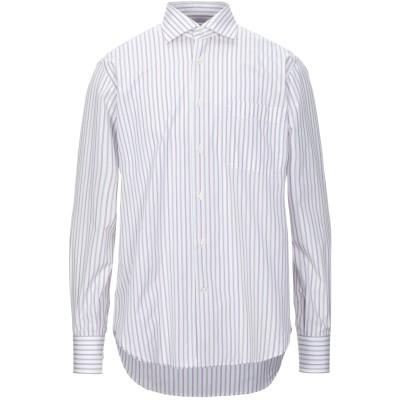 カリバン CALIBAN シャツ ホワイト 40 コットン 100% シャツ