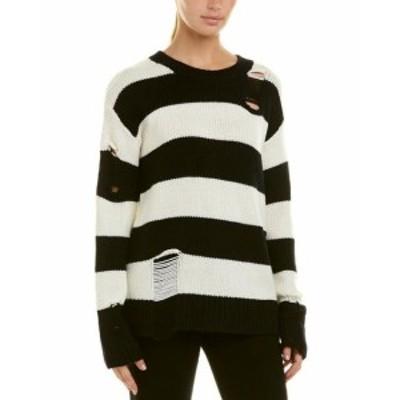 ファッション トップス N:Philanthropy Ryder Wool Sweater L Black
