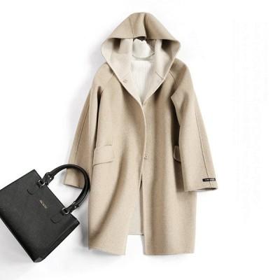 ロングコート ウールコート 通勤  オーバーコート  上品 洋服  オシャレ レディースコート  ファション 暖かい 上品 洋服 防寒 ウール