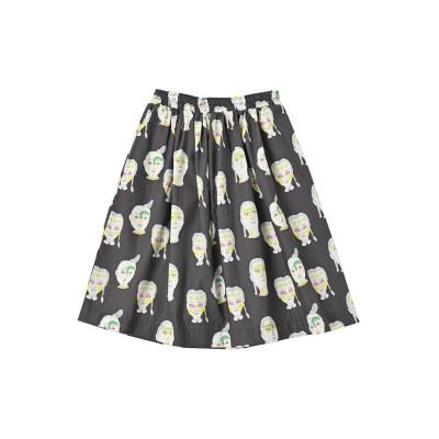 【MARKEY'S】【HOGAN RANCH WEAR】ソウガラギャザースカート