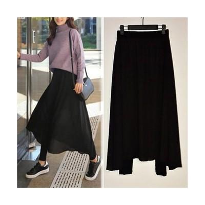 スカート付 レギンス 素敵です!大きい キュロットスカートは体型カバーもできちゃう!