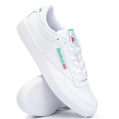 リーボック Reebok メンズ スニーカー シューズ・靴 club c 85 sneakers White