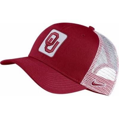 ナイキ メンズ 帽子 アクセサリー Nike Men's Oklahoma Sooners Crimson Classic99 Trucker Hat