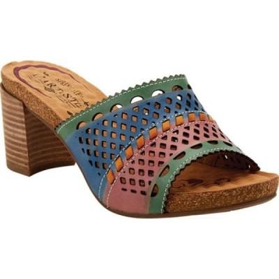 スプリングステップ L'Artiste by Spring Step レディース サンダル・ミュール シューズ・靴 Vilda Sandal Green Multi Leather
