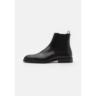 タイガーオブスウェーデン メンズ 靴 シューズ BIRENT - Classic ankle boots - black