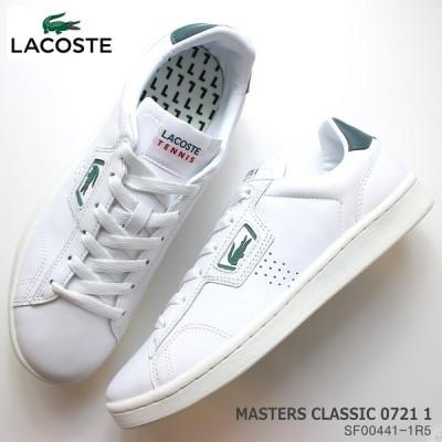 ラコステ レディーススニーカー LACOSTEACE MASTERS CLASSIC 0721 1 SF00441-1R5 白 スニーカー コート系スニーカー