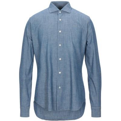 MCR シャツ ブルー 41 コットン 100% シャツ