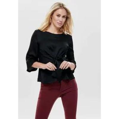 ONLY レディースシャツ ONLY - Blouse - black black