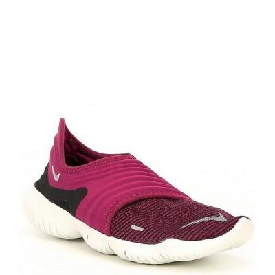 ナイキ レディース スニーカー シューズ Women's Free RN 3.0 Flyknit Running Shoe True Berry/Black/Metallic Silver
