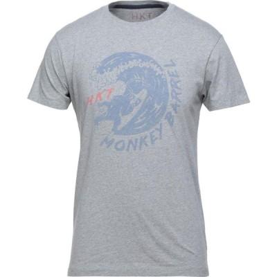 ハケット HACKETT メンズ Tシャツ トップス t-shirt Grey