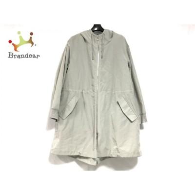 ブランベール blancvert コート サイズ38 M レディース カーキ 春・秋物 新着 20200716