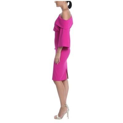 バッジェリーミシュカ レディース ワンピース トップス Asymmetrical Off-the-Shoulder Cocktail Dress