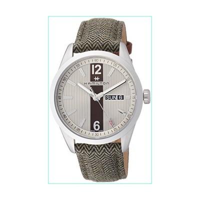 Hamilton Broadway Day/ Date Quartz Unisex Watch【並行輸入品】
