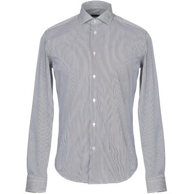 ブライアン デールズ BRIAN DALES シャツ ブラック 43 コットン 75% / ナイロン 21% / ポリウレタン® 4% シャツ