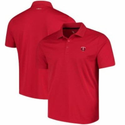 CBUK by Cutter & Buck シービーユーケー スポーツ用品  CBUK by Cutter & Buck Minnesota Twins Red DryTec Fairwood Polo