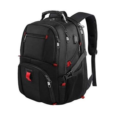 海外より出荷【並行輸入品】YOREPEK バックパック メンズ XL 50L 旅行用バックパック USB充電ポート付き TSAフレンドリー ビジネス