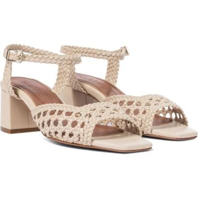 スリアーズ マルティネス Souliers Martinez レディース サンダル・ミュール シューズ・靴 ischia 50 woven leather sandals Trigo