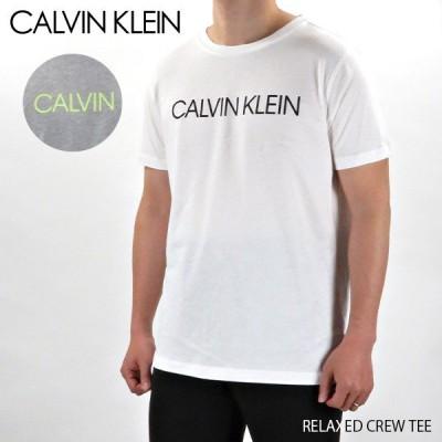 【ネコポス可:1枚まで】『Calvin Klein-カルバンクライン-』RELAXED CREW TEE 〔KM0KM00328〕