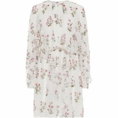 ジャンバティスタ バリ Giambattista Valli レディース ワンピース ワンピース・ドレス Floral silk crepe de chine minidress Ivoire/Fl
