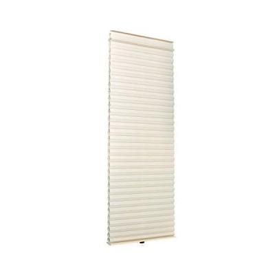 小窓用 スクリーン 35cm × 90cm ハニカムシェード | ロールスクリーン 断熱 小窓 カーテン ベージュ(C270-S2)