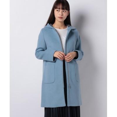 【ベーセーストック】 2WAYフードコート レディース ブルーA M B.C STOCK
