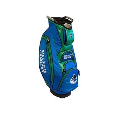 Team Golf NHL バンクーバーカナックス ビクトリーゴルフカートバッグ 10ウェイトップ デュアルハンドルと外部パターウェル内蔵 クーラーポ並行輸入品
