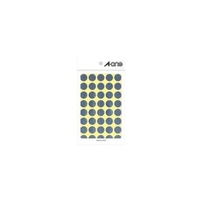 A-one(エーワン) [07032] カラーラベル 丸型 15mmφ 銀【1P8シート(320片)】 4906186070324 ポイント5倍