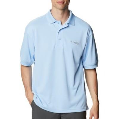 コロンビア メンズ ポロシャツ トップス Columbia Men's PFG Perfect Cast Polo Shirt (Regular and Big & Tall) Sail