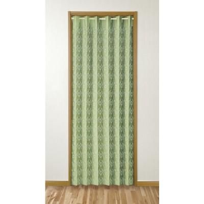 間仕切りパタパタカーテン 100×200cm ブラウン