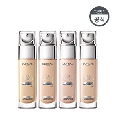 ロレアルパリ(Loreal paris) トゥルーマッチファンデーション30ml - 4種 : 素肌になじみつつ、ピュアな肌色を演出し、美しいつやと透明感を生み出します。 ::韓国コスメロレアルパリ