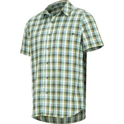 マーモット メンズ シャツ トップス Marmot Men's Kingswest SS Shirt Pond Green