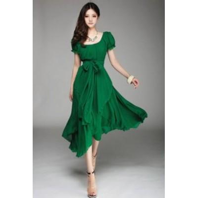 結婚式 ドレス お呼ばれドレス ドレス お呼ばれ 20代 30代 パーティードレス 袖あり 大きいサイズ ロング 結婚式ドレス 二次会 半そで