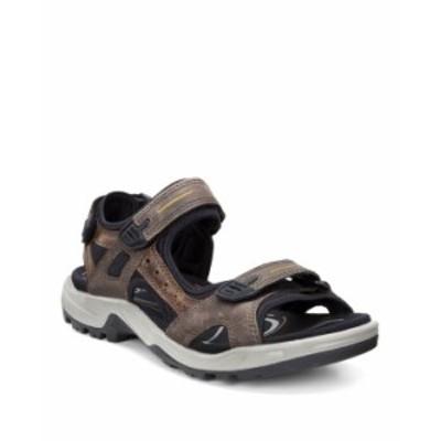 エコー メンズ サンダル シューズ Men's Yucatan Sandals Espresso/Cocoa Brown/Black