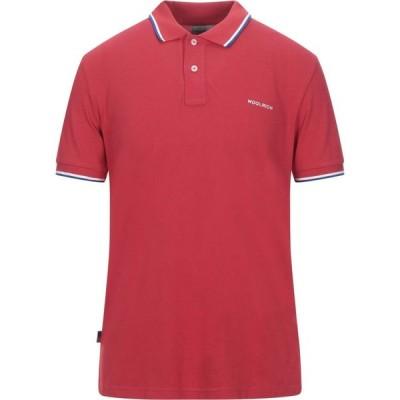 ウールリッチ WOOLRICH メンズ ポロシャツ トップス Polo Shirt Red