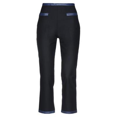 ラ プレスティック ウィストン LA PRESTIC OUISTON パンツ ブラック 2 ウール 100% / 羊革(ラムスキン) パンツ