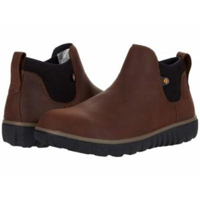 Bogs ボグス メンズ 男性用 シューズ 靴 ブーツ チェルシーブーツ Classic Casual Chelsea Brown【送料無料】