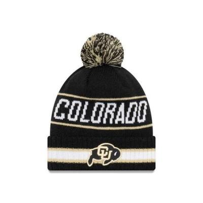 大学 NCAA 海外セレクション NCAA Colorado Buffaloes College Vintage Select Knit Pom Beanie
