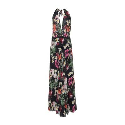 CAMILLA  Milano ロングワンピース&ドレス ブラック 44 ポリエステル 100% ロングワンピース&ドレス