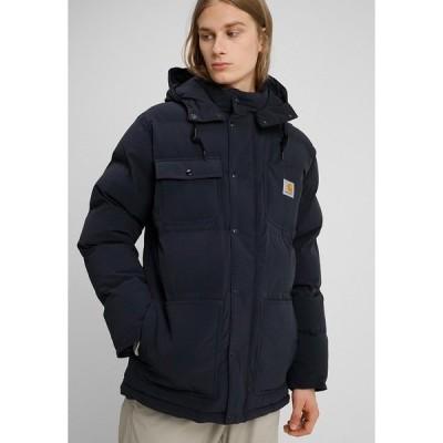 カーハート ジャケット&ブルゾン メンズ アウター ALPINE COAT - Winter jacket - dark navy/hamilton brown