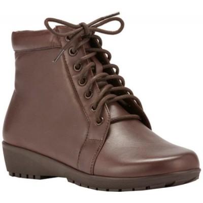ウォーキング クレードル Walking Cradles レディース ブーツ シューズ・靴 Ziggy Bootie Brown Nappa Leather