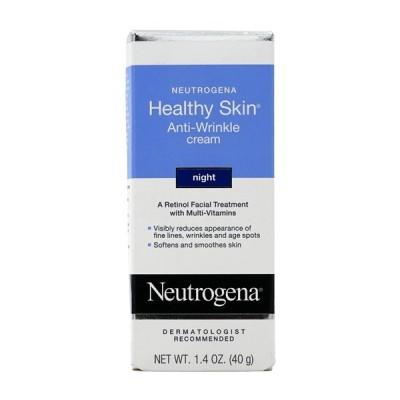 ニュートロジーナ ヘルシースキン アンチリンクル ナイトクリーム 40 g Neutrogena Healthy Skin Anti-Wrinkle Night Cream 1.4 oz