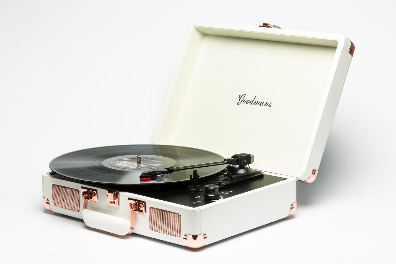 Goodmans Ealing Turntable 英國手提箱黑膠唱片機(2色可選)