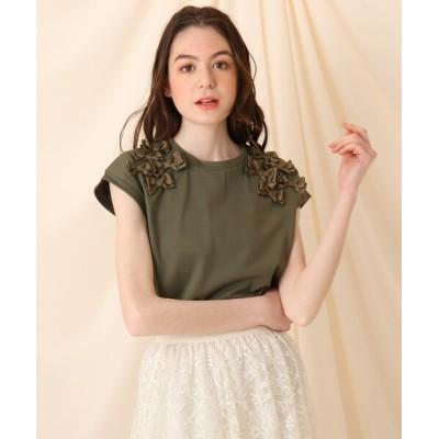 Couture brooch / 【再入荷・新色追加】リボンフレンチプルオーバー WOMEN トップス > Tシャツ/カットソー
