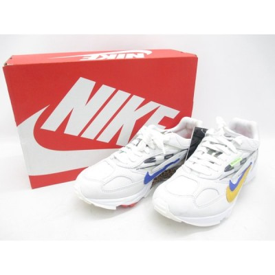 NIKE ナイキ AIR GHOST RACER CT2537-100 SIZE:27.5cm スニーカー 靴 中古 メンズ ∴WT1964