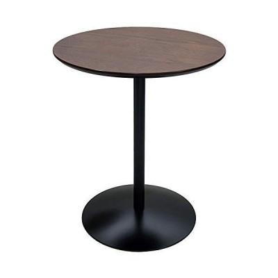 宮武製作所 サイドテーブル Santos 幅45x奥45x高さ53.5cm ブラウン 天然木使用 ST-019 BR