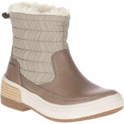 メレル Merrell レディース ブーツ シューズ・靴 Haven Bluff Polar Waterproof Boot Brindle