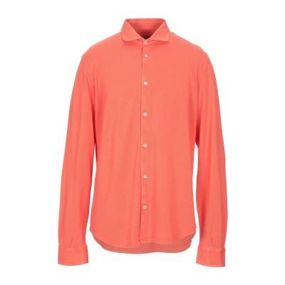 FEDELI シャツ オレンジ 60 コットン 100% シャツ