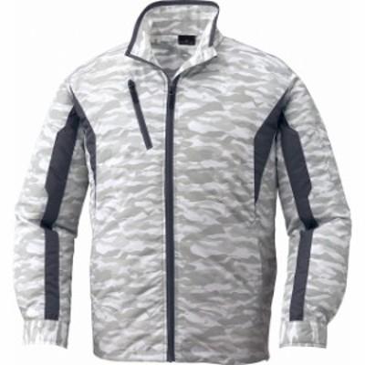 空調服長袖ジャケット(ファン無し) 87060 シルバーカモフラ 自重堂【空調服 ブルゾン】