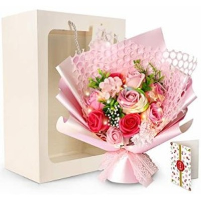 ソープフラワー ギフト 花 花束 プレゼント 造花 バラ 薔薇 贈り物 お見舞い 母の日 お祝い 入学 卒業 結婚祝い 還暦祝い 女性 男性 結婚