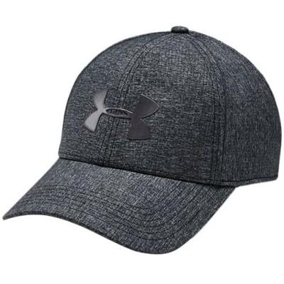 アンダーアーマー(UNDER ARMOUR) メンズ アジャスタブル エアベント クール キャップ ブラック/メタリックオーレ 1351412 001 帽子 トレーニングウェア